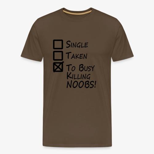 Killing Noobs - Men's Premium T-Shirt