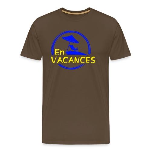 En Vacances bleu - T-shirt Premium Homme
