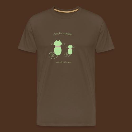 Animal care - Men's Premium T-Shirt