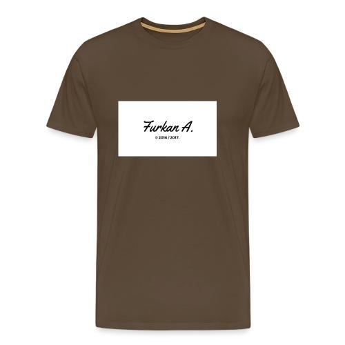 Furkan A - Zwarte sweater - Mannen Premium T-shirt