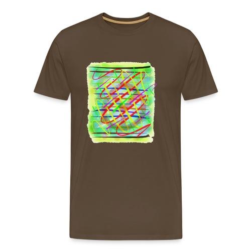 Farbregen - Männer Premium T-Shirt