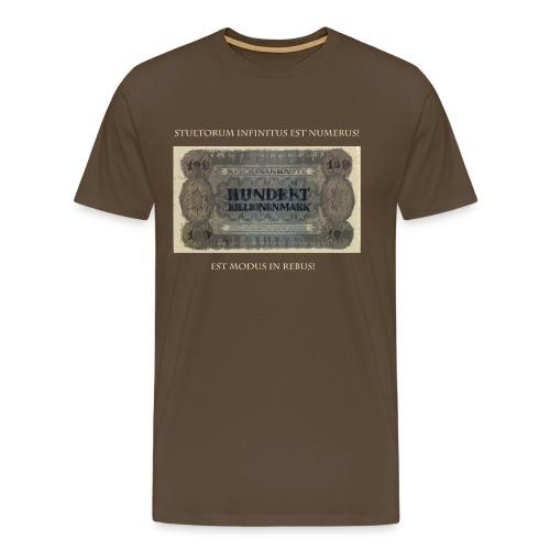 Est modus in rebus - Männer Premium T-Shirt