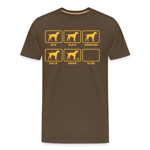 Für alle Hundebesitzer mit Humor - Männer Premium T-Shirt