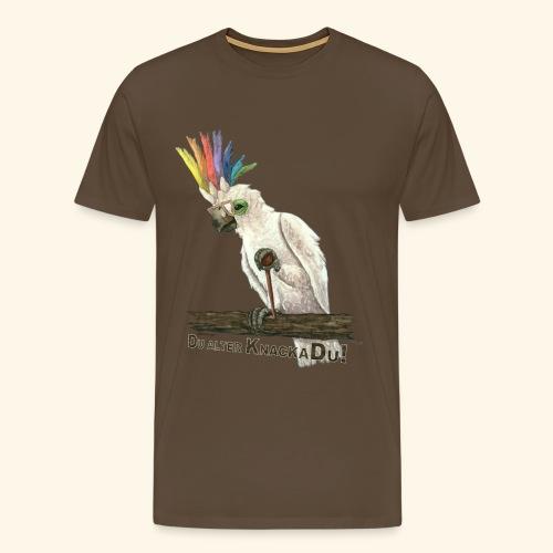 Armer, alter Knackadu! - Männer Premium T-Shirt