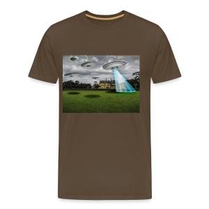UFO abduction - Maglietta Premium da uomo