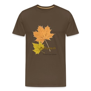 Streetworker art by Marcello Luce - autumn 2018 - Männer Premium T-Shirt