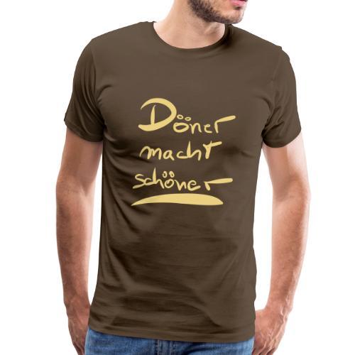 Döner macht scöner - Männer Premium T-Shirt