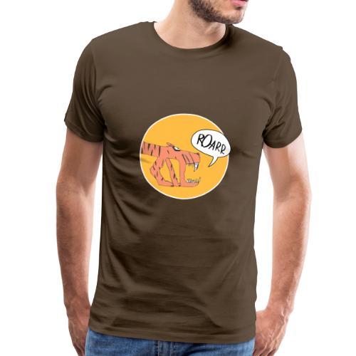 Madame Krax - Monstaa Tiger orange - Männer Premium T-Shirt