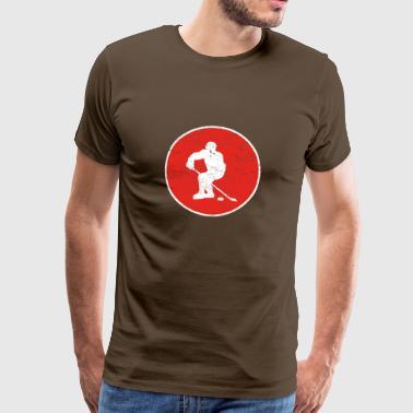 hockey sobre hielo hockey sobre hielo regalo de hockey - Camiseta premium hombre
