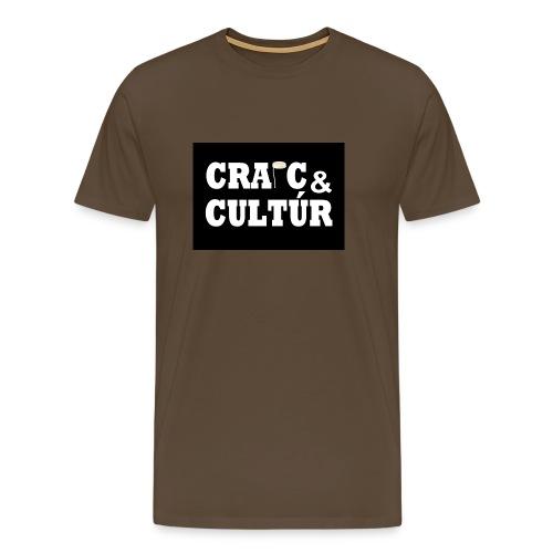 Craic & Cultúr - Men's Premium T-Shirt