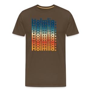 Fargerike Holmlia - Premium T-skjorte for menn