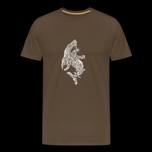 Shark Surfer - Männer Premium T-Shirt