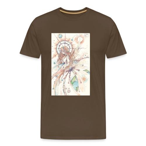 Déesse du ciel - T-shirt Premium Homme