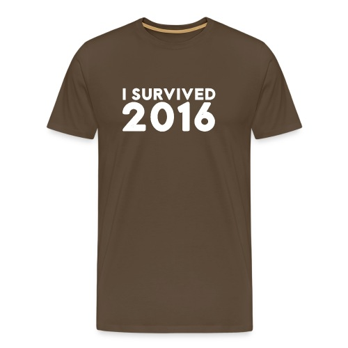 I SURVIVED 2016 - Men's Premium T-Shirt