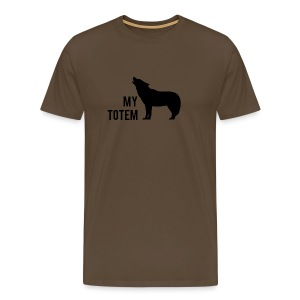 My totem wolf - T-shirt Premium Homme