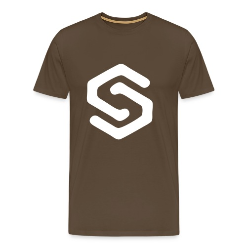 Simsonszene Sachsen S-LOGO weiß - Männer Premium T-Shirt