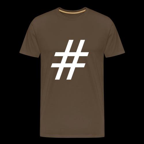 Hashtag Team - Männer Premium T-Shirt