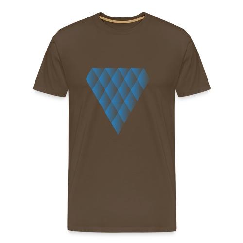 Diamanter i Diamanter - Herre premium T-shirt
