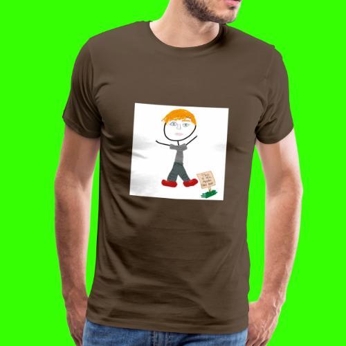 THE AUSTIN HALL (AKA THEBIGBEEFIS) TOUR - Men's Premium T-Shirt
