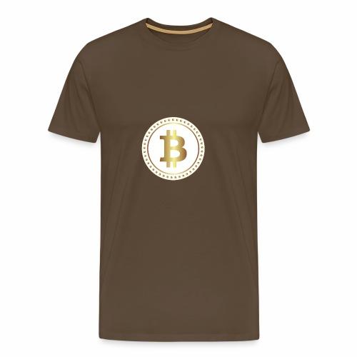 bitcoin 2670336w - Männer Premium T-Shirt