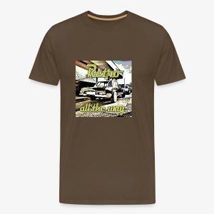 Retro all the way. - Männer Premium T-Shirt