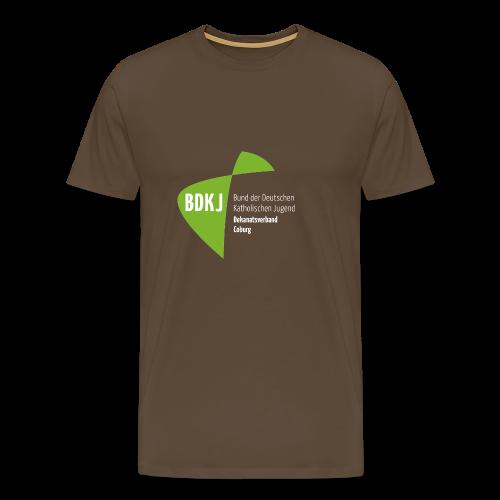 BDKJ Logo Transparenz - Männer Premium T-Shirt