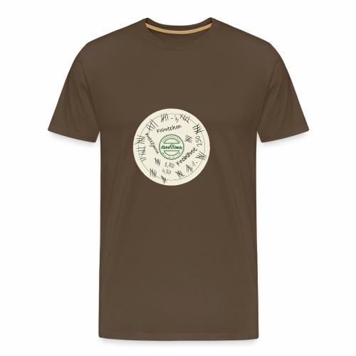 Der Bierdeckel - Männer Premium T-Shirt