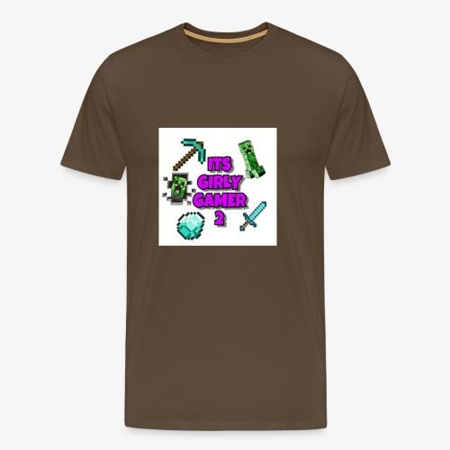 ItsGG2 Logo - Premium T-skjorte for menn