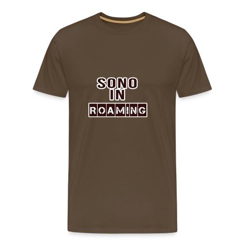 Sono in Roaming - Maglietta Premium da uomo