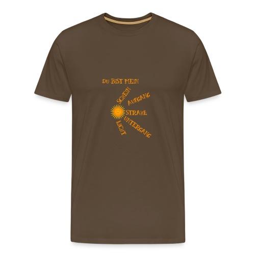 Sonnenlicht Sonnenschein - Männer Premium T-Shirt