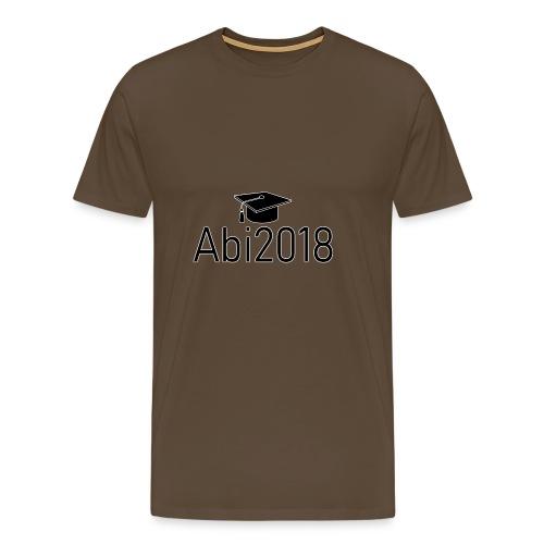 Abi2018 - Abitur2018 - Gymnasium Schulabschluss - Männer Premium T-Shirt