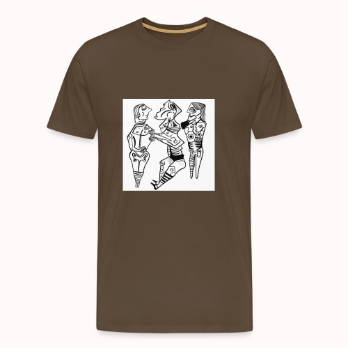 art contemporain - T-shirt Premium Homme