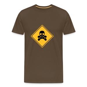 danger - Mannen Premium T-shirt
