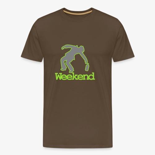 Betrunken am Wocheende - Männer Premium T-Shirt