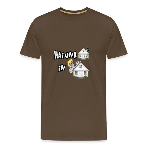 T-Shirt Hai una Casa in Casa - Maglietta Premium da uomo