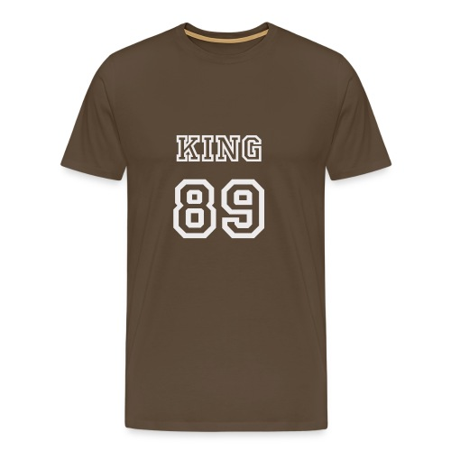 KING t-shirt - Premium-T-shirt herr