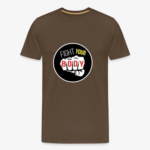logo fyb noir - T-shirt Premium Homme