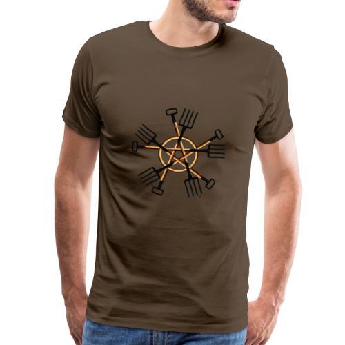 PAGAN GARDENER - Men's Premium T-Shirt