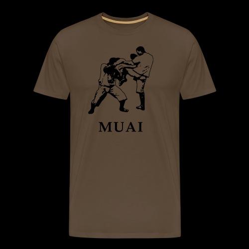MUAI - 90s - Männer Premium T-Shirt