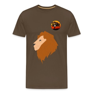 In the Zone Lion 2 - Camiseta premium hombre
