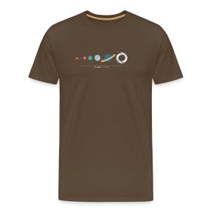 Champion's Night - Planet System - Männer Premium T-Shirt