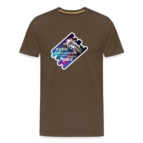 Jeder Astronaut braucht seinen Raum - Männer Premium T-Shirt