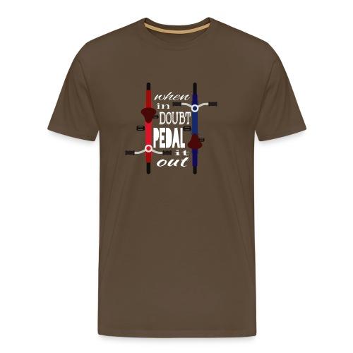 PEDAL it out - Männer Premium T-Shirt