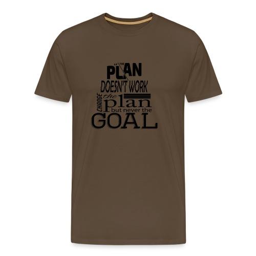 Mein Ziel - Männer Premium T-Shirt