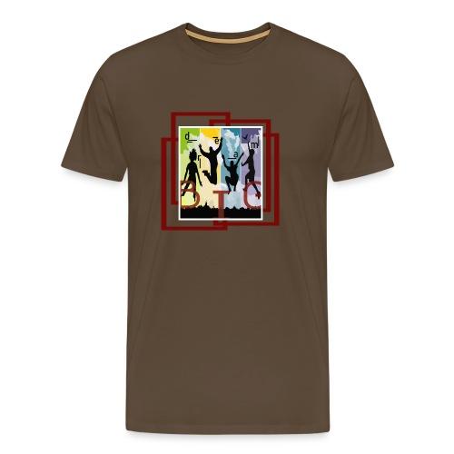 Träum groß - Männer Premium T-Shirt