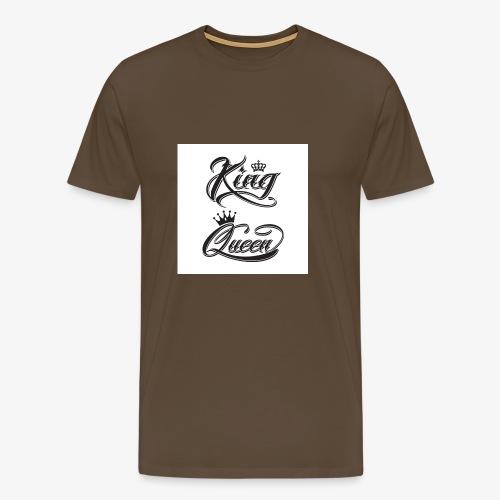 king and queen - Männer Premium T-Shirt