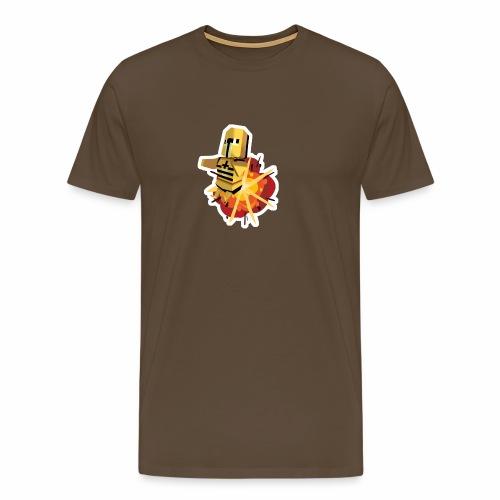 Dyna Knight - Bombs Away - Miesten premium t-paita