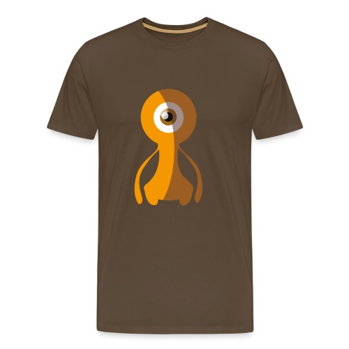 70s Alien Monster - 70s Monster Collection - Männer Premium T-Shirt