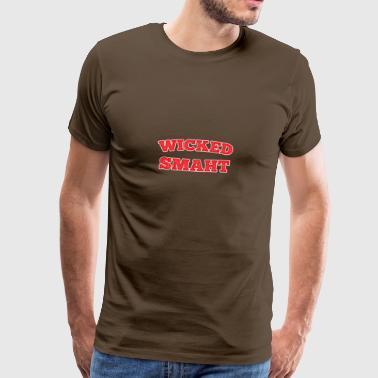 Smaht Geschenk für lustige Menschen - Männer Premium T-Shirt