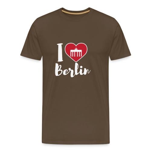 LIMITIERTE EDITION: I Love Berlin,Geschenkidee, - Männer Premium T-Shirt